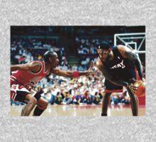 LeBron Vs MJ by casablancalabel