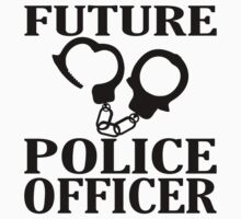 Future Police Officer Kids Tee