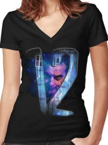 Dr Who - The Twelfth Doctor Women's Fitted V-Neck T-Shirt