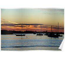 Sunset @ Werribee Poster