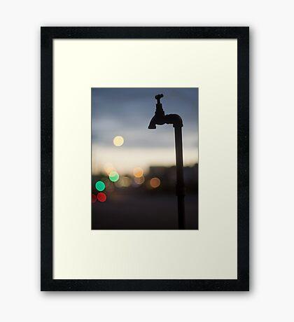 Pipe dreams Framed Print