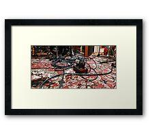 Wired For WonderBrazz Framed Print