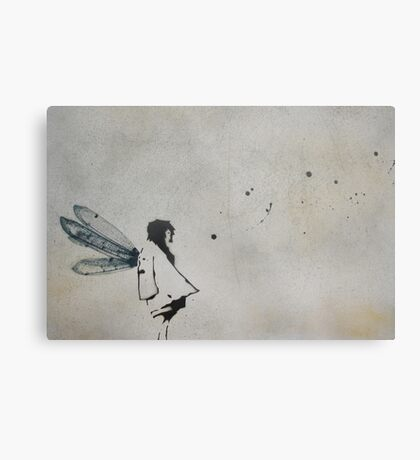'i want to fly' Metal Print
