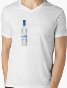 goose got me loose Mens V-Neck T-Shirt