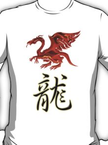 Dragon Chinese Zodiac Designers T-shirt and Stickers T-Shirt