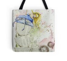Alice and the Teacups Tote Bag