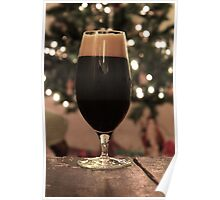 Stout at Christmas Poster