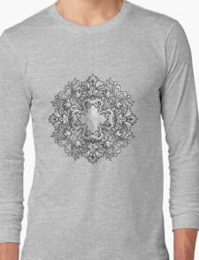 SNOW FLAKE Long Sleeve T-Shirt