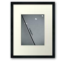 Superleggera Framed Print