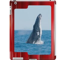 Humpback Whale Breach iPad Case iPad Case/Skin