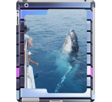 Whale Watching iPad Case iPad Case/Skin
