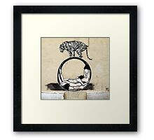 The real life of Pi...... Framed Print