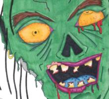 Zombie Drawing Sticker