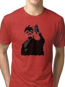 """""""look me in the eye and tell me i'm crazy"""" Tri-blend T-Shirt"""