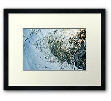 Bubbles of love  Framed Print