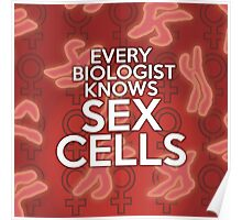 EVERY BIOLOGIST KNOWS SEX CELLS Poster