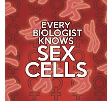 EVERY BIOLOGIST KNOWS SEX CELLS Photographic Print