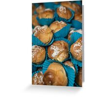 Blue cakes Greeting Card
