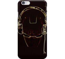 Iron DJ pop art iPhone Case/Skin