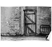 Back gate ......... Poster