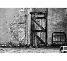 Back gate ......... Photographic Print
