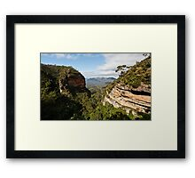 The Blue Mountains ........... Framed Print