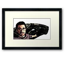 Tai Lopez In His Garage Framed Print