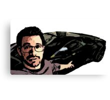 Tai Lopez In His Garage Canvas Print