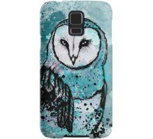 Owl Tee Coloured Samsung Galaxy Case/Skin