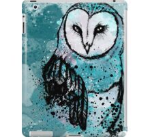 Owl Tee Coloured iPad Case/Skin
