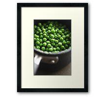 Peas for all ........... Framed Print