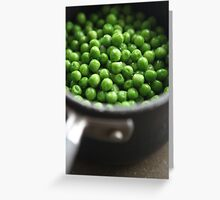 Peas for all ........... Greeting Card
