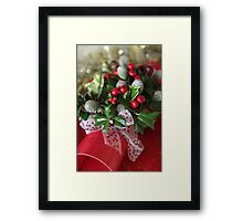flower  bon bon  Framed Print
