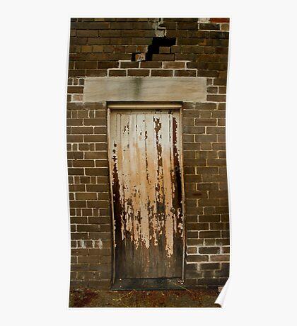 Front door ............... Poster