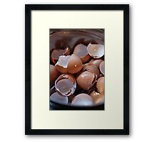 Cracked up  Framed Print