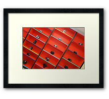 Lots of cameras............ Framed Print