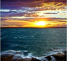 Bay Sunset by Polar Impressions  Photography