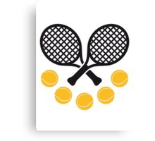 Tennis Sport Canvas Print