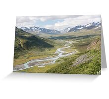 Sarek Greeting Card