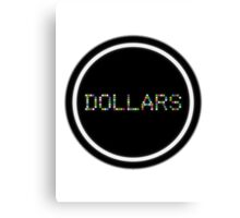 Dollars - Durarara!! Canvas Print