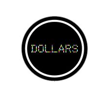 Dollars - Durarara!! Photographic Print