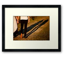 Different .......... Framed Print