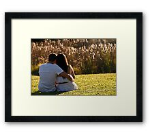 So ~ so  Framed Print
