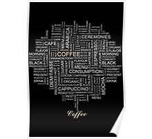 Words Associated With Coffee  Poster