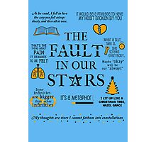 The Fault In Our Stars v.2 Photographic Print