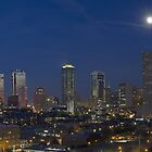 Fort Worth Skyline, Texas, 1 by RobGreebonPhoto
