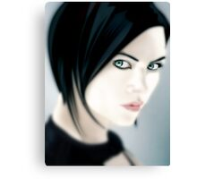 Charlize Theron as Aeon Flux [iPhone / iPod case / Print] Canvas Print