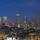 Fort Worth Skyline, Texas 4 by RobGreebonPhoto