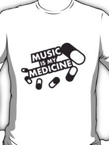Music Is My Medicine T-Shirt