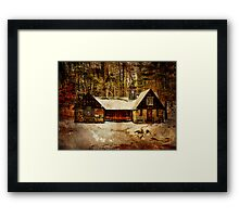 Coach Barn Sahler Mill Framed Print